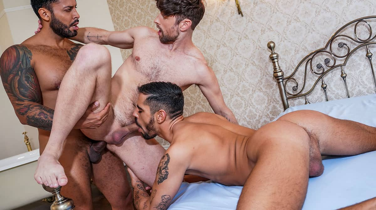 Viktor Rom Fucks Valentin Amour And Drew Dixon