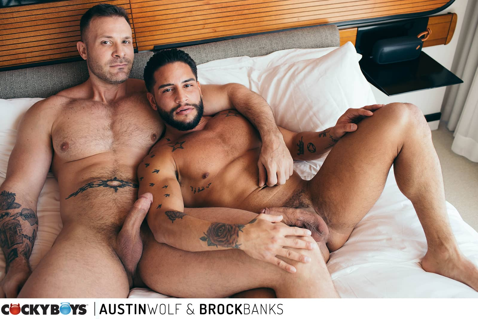 Austin Wolf and Brock Banks