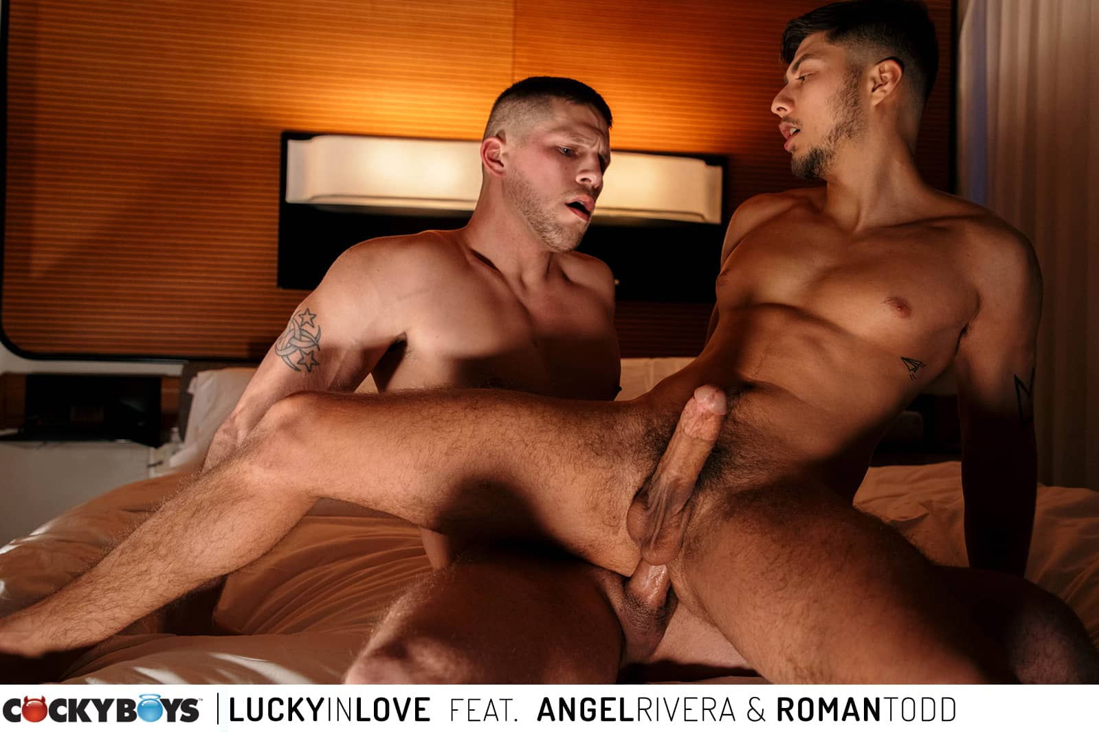 Angel Rivera and Roman Todd