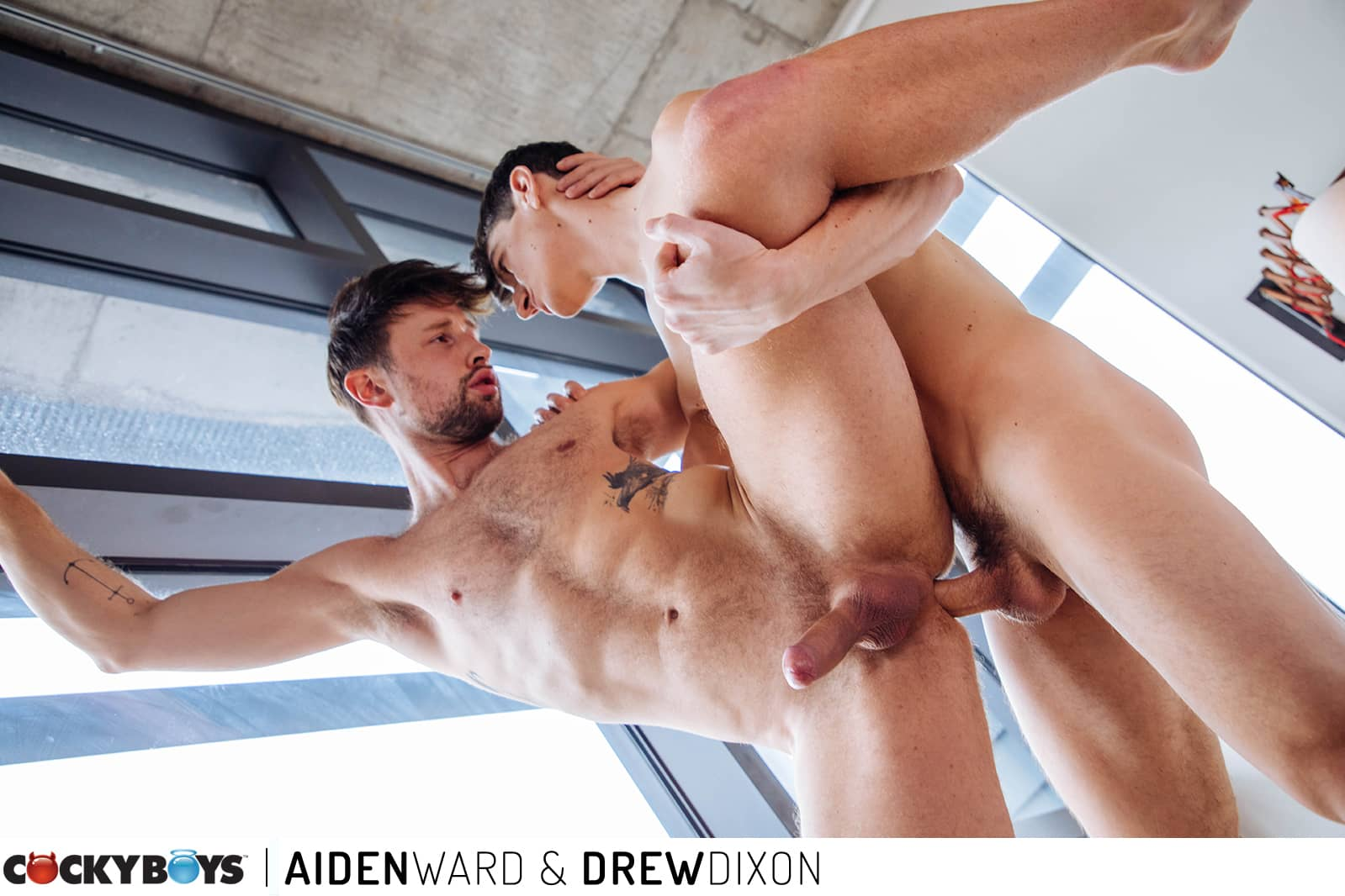 Aiden Ward and Drew Dixon