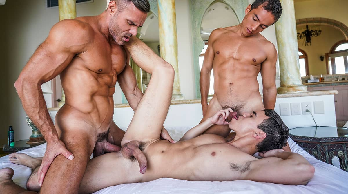 Oliver Hunt, Dante Lauro and Manuel Skye