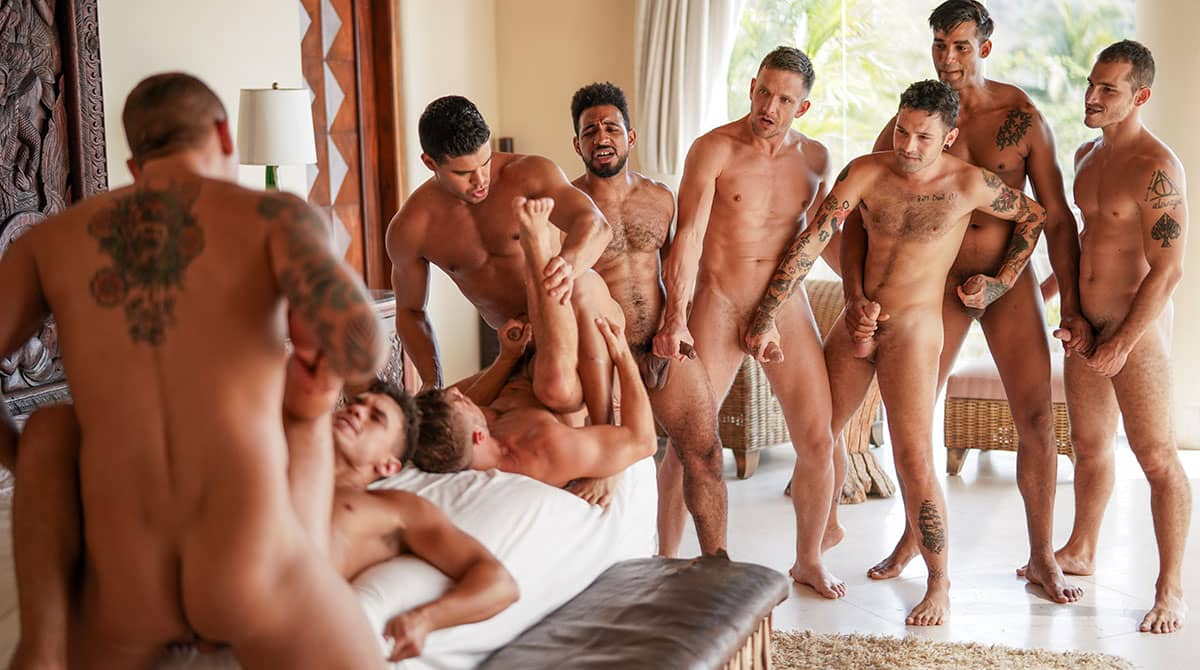 The Lucas Men's Hot-And-Heavy Orgy Part 02
